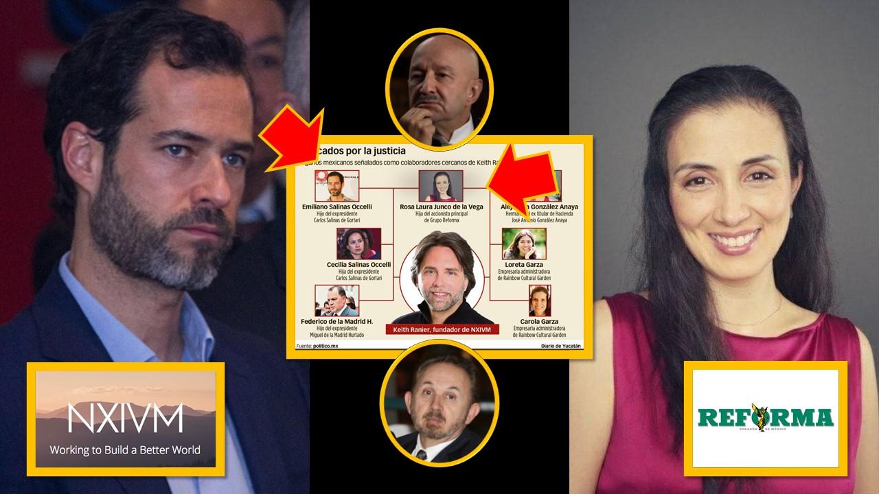 Condenan a cadena perpetua a líder de secta sexual; hijo de Salinas e hija  de dueño del Reforma implicados – El gato político News